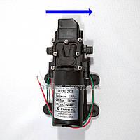 Насос водяной KF-2203 правый мембранный, 12 В, 3,6 л/мин. Помпа для опрыскивателя 12В.