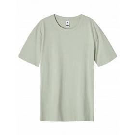 Чоловіча однотонна оливкова футболка