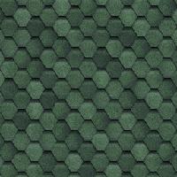 ТЕХНОНИКОЛЬ Гибкая черепица, Финская, Соната, зеленый , фото 1