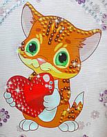 Картина из пайеток Котёнок (Пм-04-10), фото 1