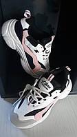 Красочные кроссовки со шнуровкой , стелька 22,5