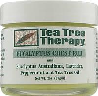 Противопростудный бальзам с маслами эвкалипта, лаванды, перечной мяты и чайного дерева * Tea Tree Therapy (США
