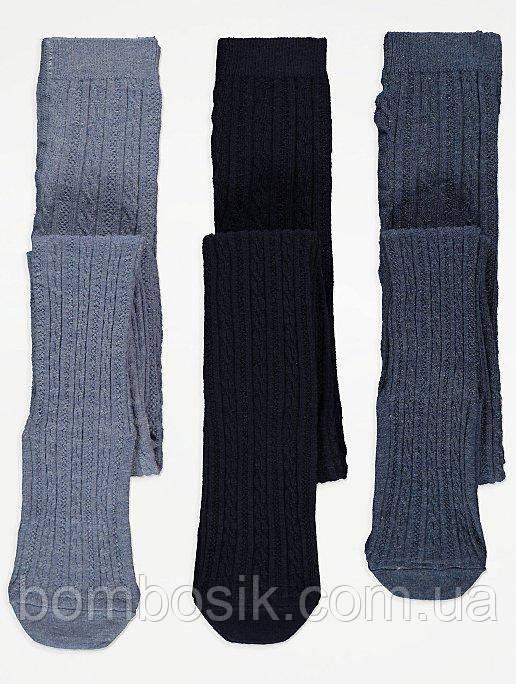 Колготки для девочки George набор 3 пары, 2-3г (92-98см)