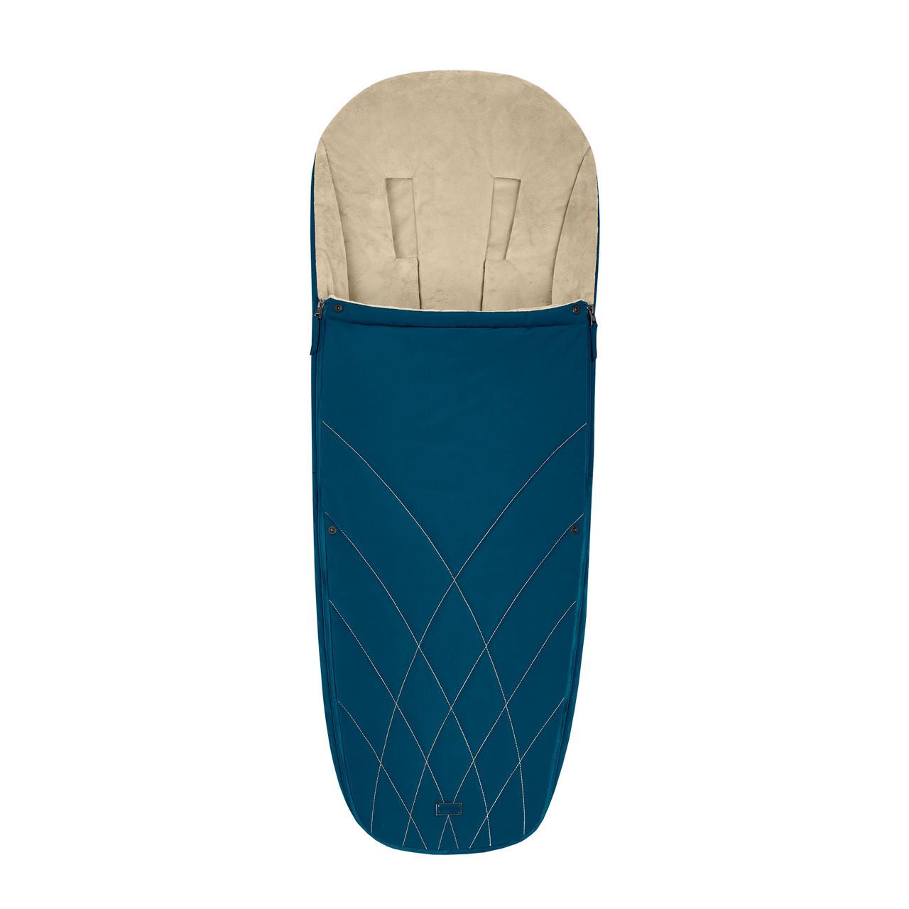 Чохол для ніг Cybex Platinum / Mountain Blue turquoise