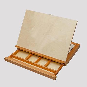 3 в 1 Мольберт-Планшет-Етюдник 43,5х33,5 см (А3)