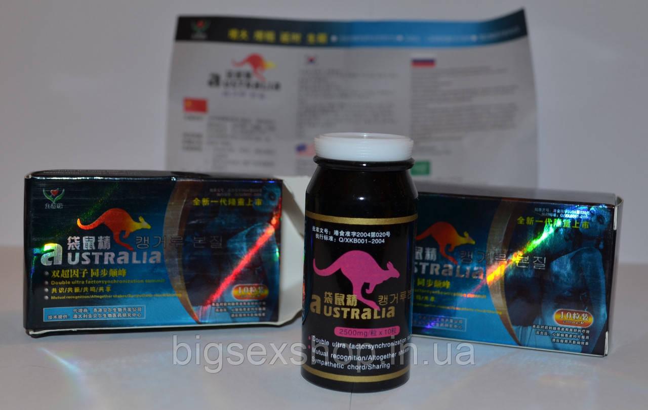 Австралийский кенгуру препарат для потенции отзывы
