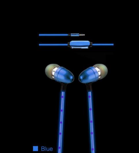Навушники світяться з мікрофоном Light Style