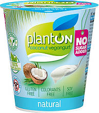 Йогурт веганський плейн 160г PlantON