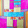 Женский яркий шелковый платок размером 85*86 см ETERNO (ЭТЕРНО) ES0309-14