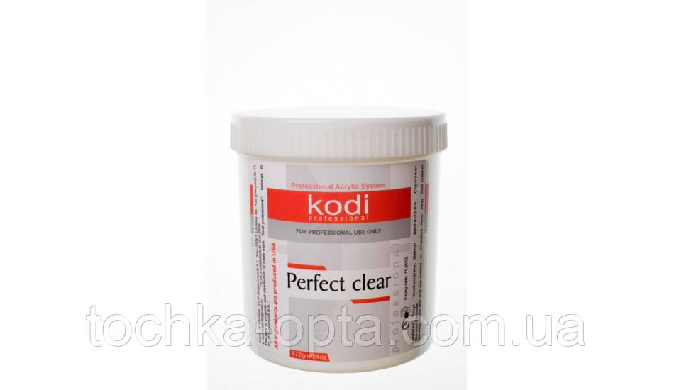Perfect Clear Powder (Базовый акрил прозрачный) 224 гр.