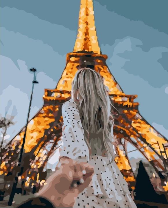 Картина по номерам (Следуй за мной Париж) bk_1019