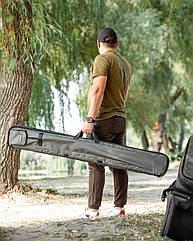 Чехол для удилищ жёсткий 145 см Fisher