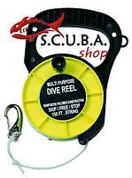 Катушка BS Diver многоцелевая с держателем (90 м)