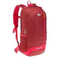 Рюкзак городской бордово-красный 20 л. (легкий, водонепроницаемый)