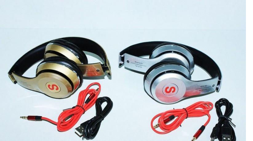 Бездротові Bluetooth-навушники Black TM-012S + Гарнітура
