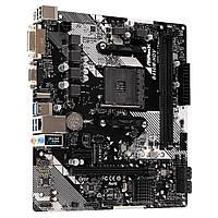 Материнская плата sAM4 AMD B450 2*DDR4 ASRock B450M-HDV R4.0 mATX новая