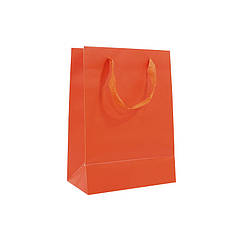 Подарунковий пакет PPW PAPER Lesko ZD003-8 Orange Medium