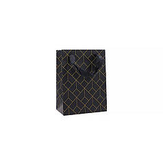 Подарочный пакет PPW PAPER Lesko ZD013 Geometry Small