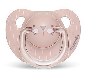 Пустушка анатомічна, 6-18 місяців, Hygge:Затишні історії/рожева