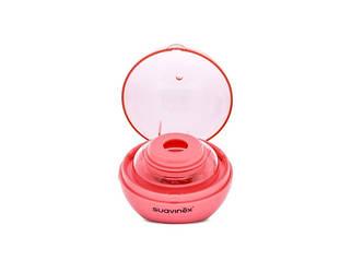 Стерелізатор портативний для пустушок/рожевий