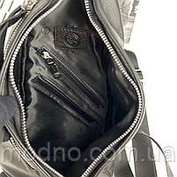 Чоловіча шкіряна нагрудна сумка слінг через плече H. T. Leather, фото 8
