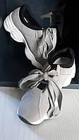 Стильные кроссовки со шнуровкой , стелька 22,2