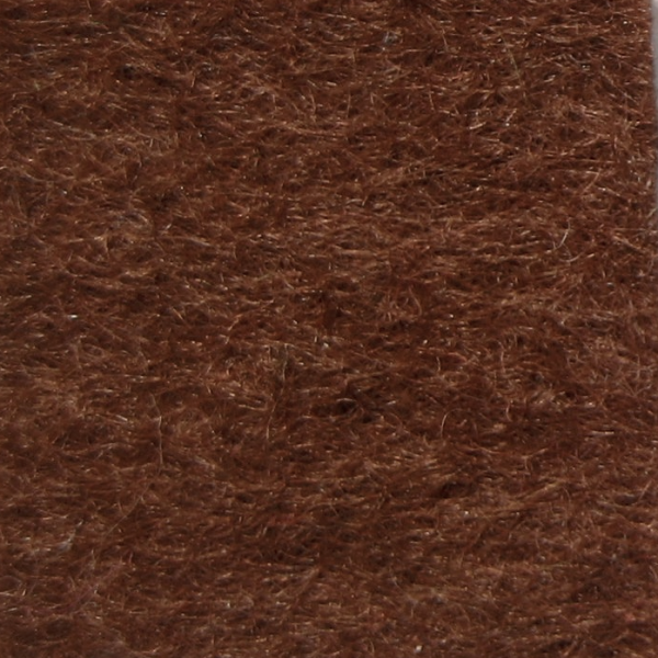 Фетр натуральный 1.3 мм, 20x30 см, ОРАНЖЕВО-КОРИЧНЕВЫЙ