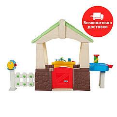 Игровой домик Little tikes Deluxe Садовый 2 в 1 630170M Бесплатная доставка.