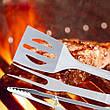 Набор принадлежностей для барбекю 18 предметов в алюминиевом кейсе, фото 3