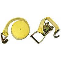 Стяжка груза VITOL 5Т. ST-212D-12 YL 50мм х 12м (мех.+трос)