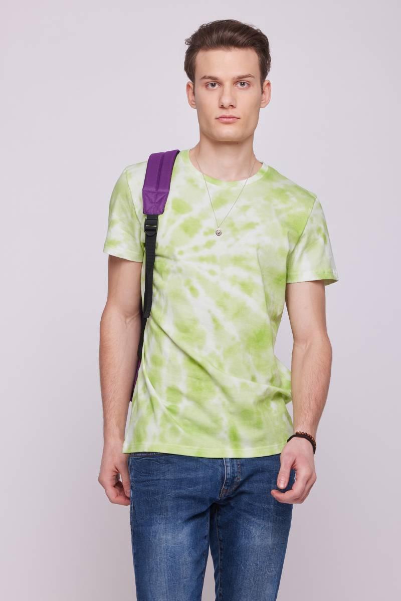 Мужская футболка с стиле тай дай
