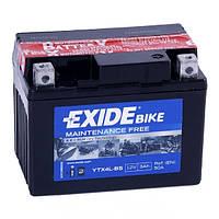 Мото аккумулятор EXIDE YTX4L-BS