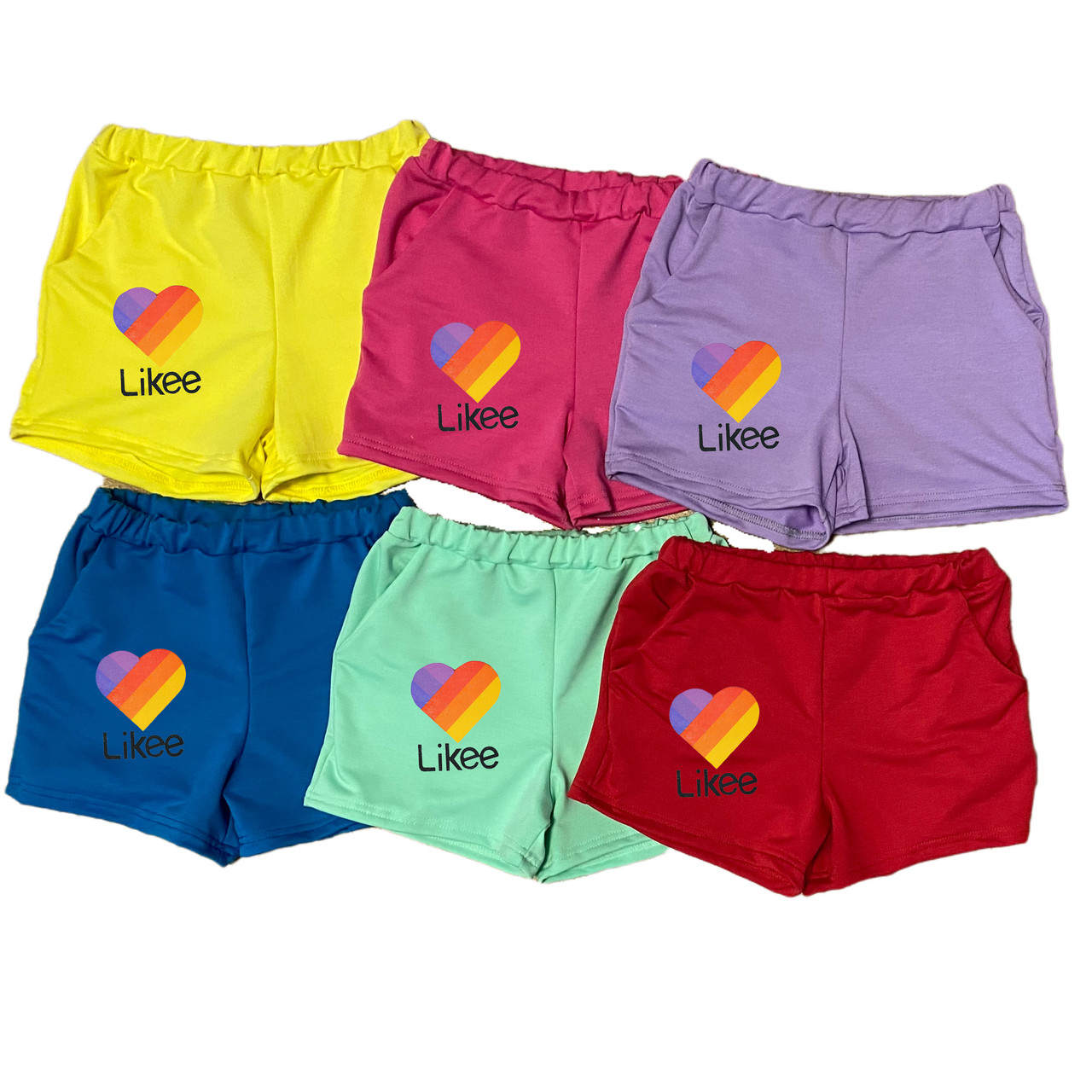 Детские шорты на девочку Likee, 2-16 лет