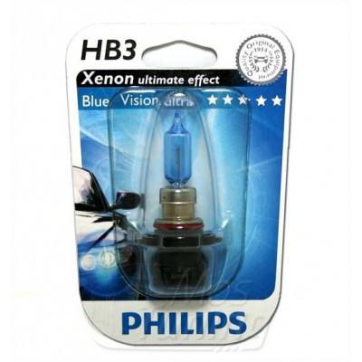 Автолампа PHILIPS BlueVision 9005 HB3  61W 12V (блистер)