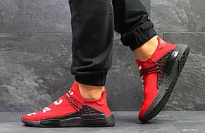 Кроссовки Мужские Adidas NMD Human Race,сетка,красные, фото 2