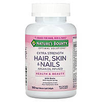 Комплекс для здоровья волос, кожи и ногтей, Nature's Bounty, Optimal Solutions 150 капсул