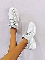 Вязаная дышащая  беговая обувь на шнурке SHEIN , стелька 23