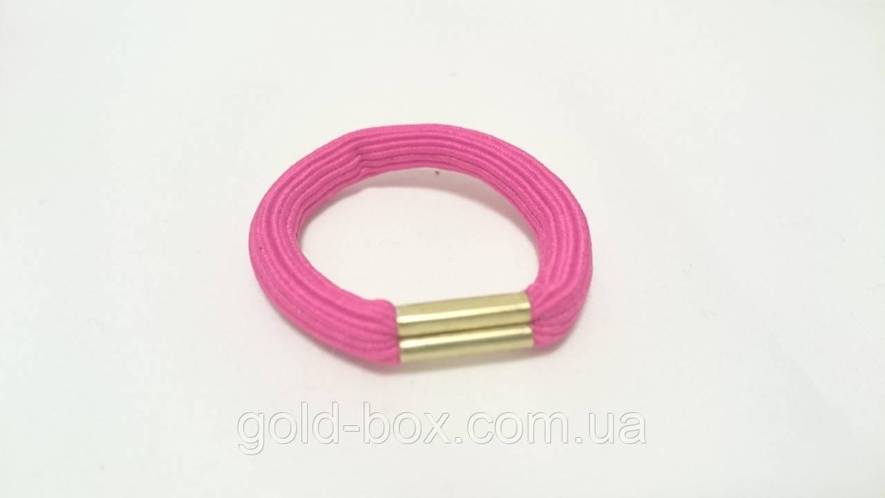 Гумка для волосся рожева