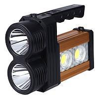 Мощный аккумуляторный светодиодный фонарь DAT AT-298 10W