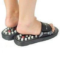 Акупунктурные тапочки Lanaform Foot Reflex , массажные тапочки Ланаформ