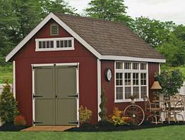 Деревянные хозблоки в скандинавском стиле от производителя. Scandinavian style barns - 01