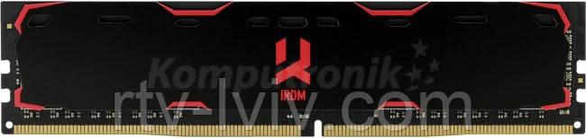 GOODRAM IRDM 8GB Czarny [1x8GB 2400MHz DDR4 CL15 1.2V DIMM]