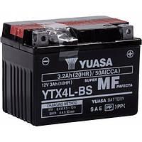 Мото аккумулятор Yuasa YTX4L-BS