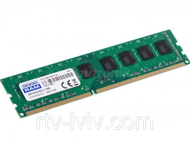 GOODRAM 8GB [1x8GB 1600MHz DDR3 CL11 DIMM]