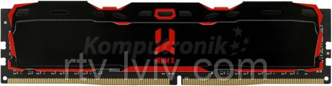 GOODRAM IRDM X 8GB Czarny [1x8GB 3200MHz DDR4 CL16 DIMM]