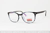 Жіноча кругла пластикова оправа для окулярів, фото 1