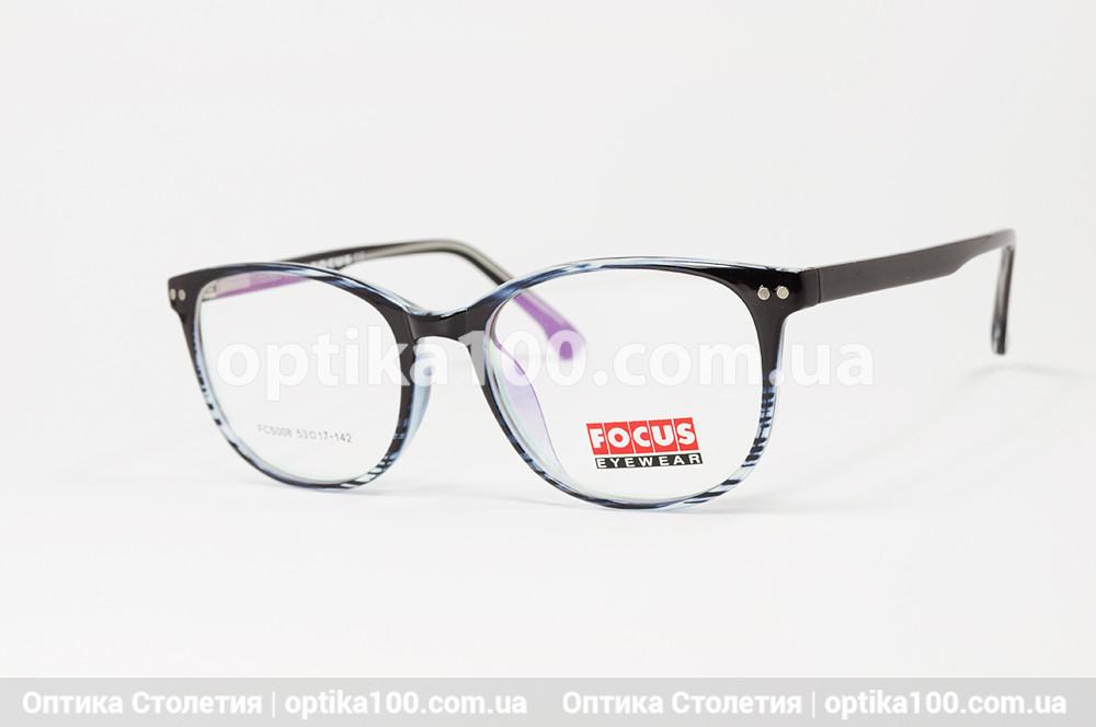 Жіноча кругла пластикова оправа для окулярів
