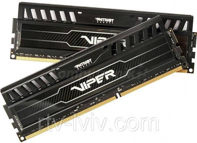 Patriot Viper 3 16GB [2x8GB 1600MHz DDR3 CL10 DIMM]