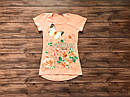 Дитяча футболка-туніка для дівчинки на 9-13 років, фото 6