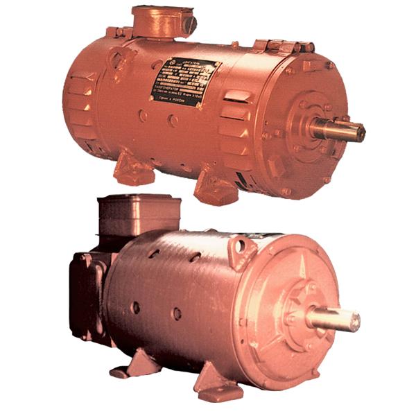 Электродвигатели постоянного тока серии 4ПНМ112, 132, 160, 180
